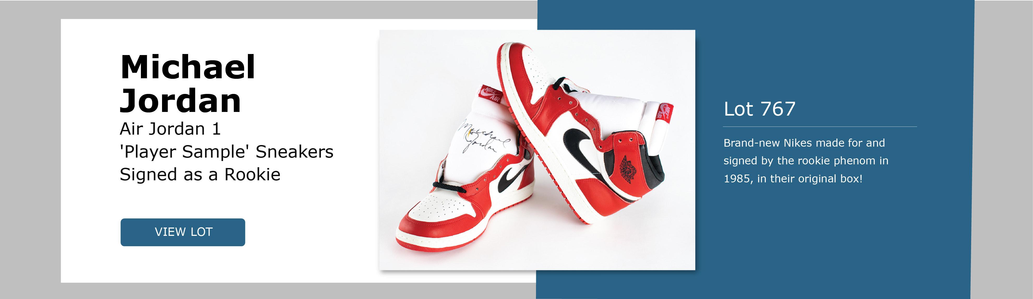 Michael Jordan Sneaker