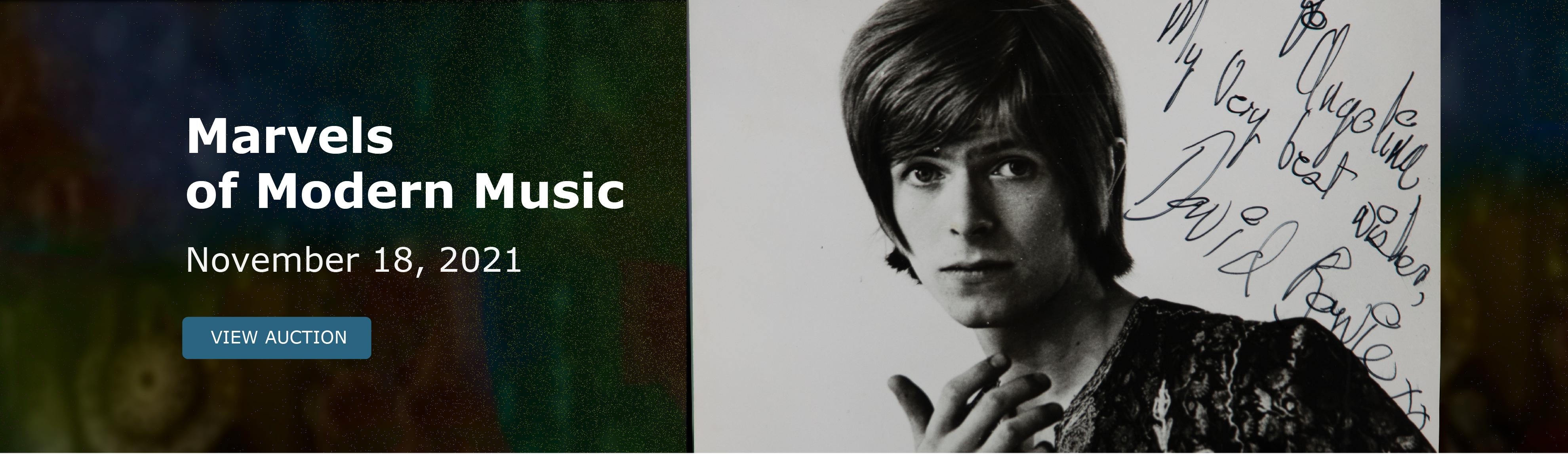 Marvels of Modern Music