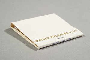 Ronald Reagan Matchbook