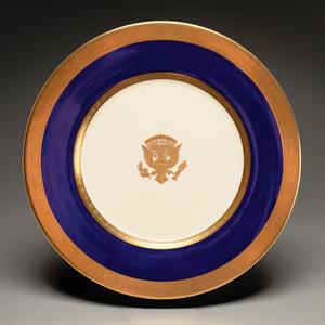 Woodrow Wilson White House China Service Plate