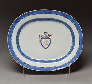 Thomas Jefferson White House China Serving Plate