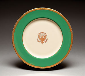 Jimmy Carter White House China Plate