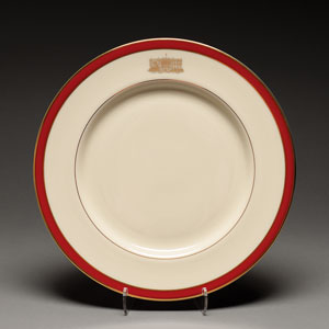 Nancy Reagan White House China Plate from First Ladies Breakfast
