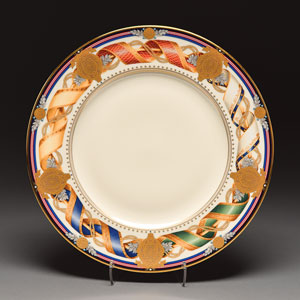 Lenox Millennium Commemorative White House Plate