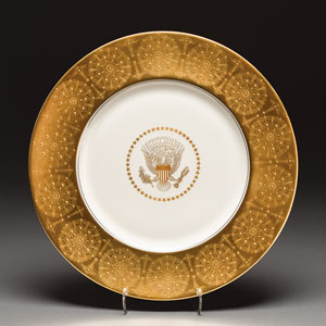 Dwight D. Eisenhower White House China Service Plate