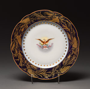 Benjamin Harrison White House China Luncheon Plate