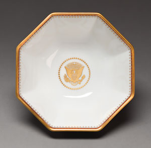 Ronald Reagan White House China Bowl