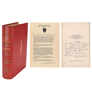 Dwight D. Eisenhower Limited Edition Signed Book
