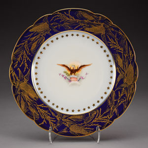 Benjamin Harrison White House China Breakfast Plate