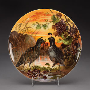 Rutherford B. Hayes White House Limited Edition 'California Quail' Plate