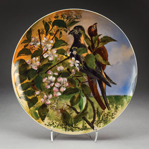Rutherford B. Hayes White House Limited Edition 'Two Birds' Plate
