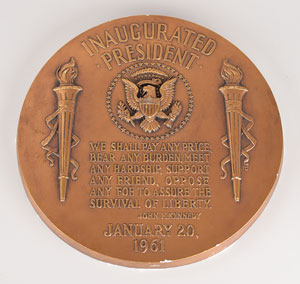 John F. Kennedy Inaugural Address Plaque
