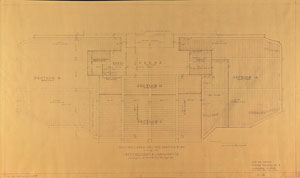 Harry S. Truman 1949 Inaugural Blueprints