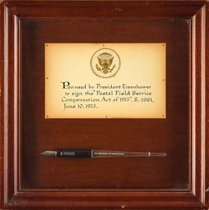 Dwight D. Eisenhower Bill Signing Pen