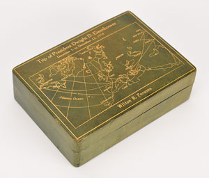 Dwight D. Eisenhower 'Operation Monsoon' Cigarette Box
