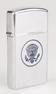 John F. Kennedy 1963 European Trip Zippo Lighter