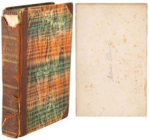 Millard Fillmore Signed Book: 'History of Europe'