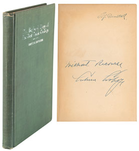 Calvin Coolidge Signed Book: 'The Boyhood Days of President Calvin Coolidge'