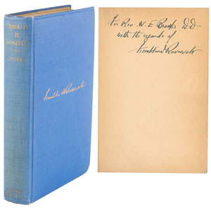 Franklin D. Roosevelt Signed Book: 'A Career in Progressive Democracy'