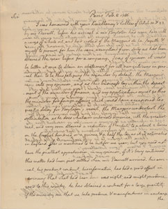 Thomas Jefferson Autograph Letter Signed