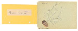 Cole Porter and Ella Fitzgerald