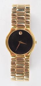 Dee Dee Ramone's Gold Movado Watch