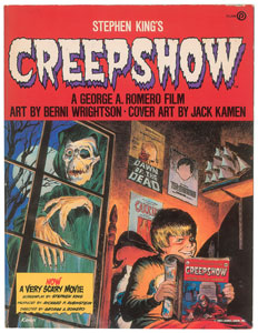 Dee Dee Ramone's Creepshow Book Signed by Stephen King
