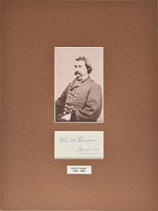 Union Generals: Rosecrans and Logan