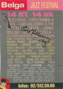 Miles Davis and Cab Calloway