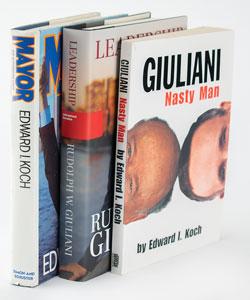 Rudy Giuliani and Ed Koch