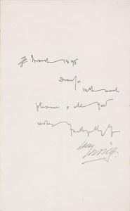 Bram Stoker and Henry Irving
