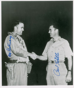 Paul Tibbets and Charles Sweeney