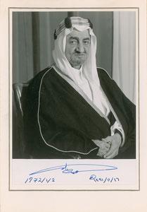 King Faisal of Saudi Arabia