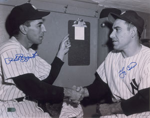 Yogi Berra and Phil Rizzuto