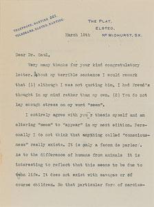 Sigmund Freud: Ernest Jones