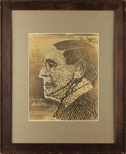 Mole and Thomas 'Living Photograph' of Woodrow Wilson