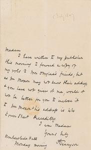 Alfred Lord Tennyson