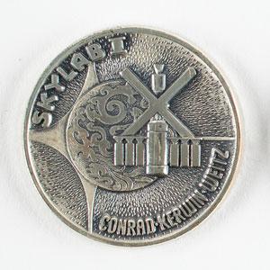Gene Cernan's Flown Skylab 2 (SLM-1) Robbins Medal