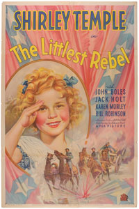 Shirley Temple: The Littlest Rebel One Sheet Poster