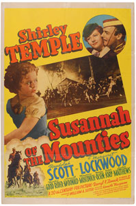 Shirley Temple: Susannah of the Mounties One Sheet Poster