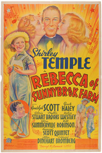 Shirley Temple: Rebecca of Sunnybrook Farm One Sheet Poster