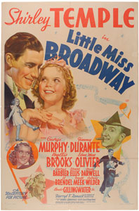 Shirley Temple: Little Miss Broadway One Sheet Poster