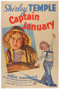 Shirley Temple: Captain January One Sheet Poster