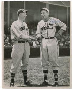 Lefty Grove and Dizzy Dean