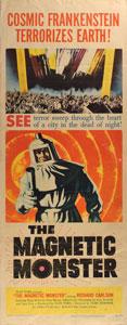 The Magnetic Monster Insert Movie Poster
