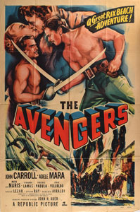 The Avengers One Sheet Movie Poster