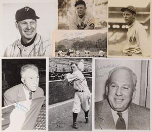 Baseball Hall of Famers and Executives