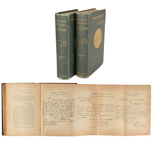 Personal Memoirs of U. S. Grant (First Edition)