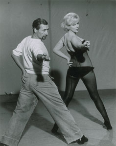 Marilyn Monroe and Jack Cole