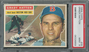 1956 Topps #26 Grady Hatton - PSA MINT 9 - None Higher!